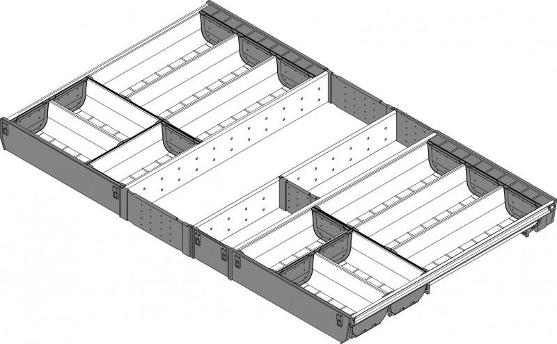 ORGA-LINE pour TANDEMBOX 900mm profondeur 500mm