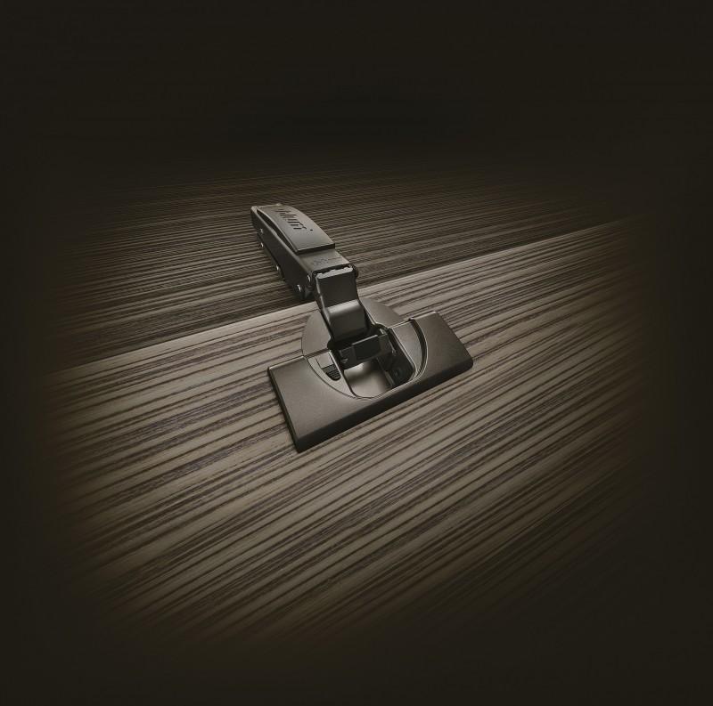 Charnière CLIP top sans ressort Black Onyx