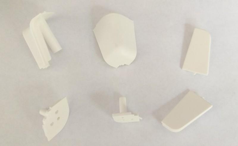 Kit accessoires pour Alzatine blanc